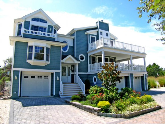 Building a new home on long beach island nj after for Building a house in nj