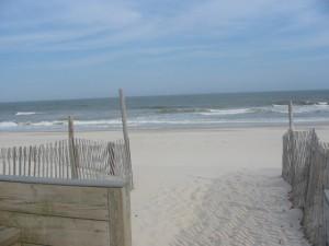 Beach Replenishment on Long Beach Island NJ
