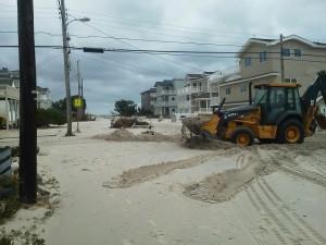 Hurricane Sandy on Long Beach Island NJ