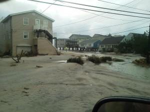 Hurricane Sandy and Long Beach Island NJ