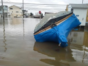 Hurricane Sandy and Flooding on Long Beach Island NJ