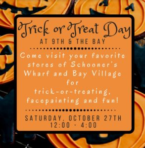 Trick or Treat Day at 9th and Bay